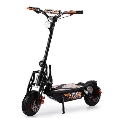 evo电动滑板车es16成人便携迷你折叠酷炫电动车带座椅代步自行车 黑色