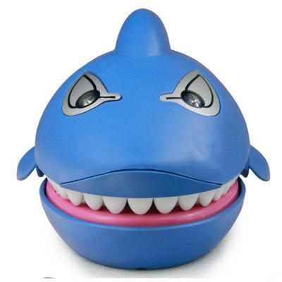 儿童亲子玩具大鲨鱼 咬手鲨鱼