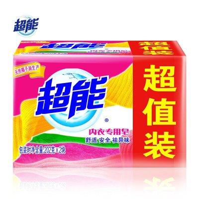 超能内衣专用皂202g*2