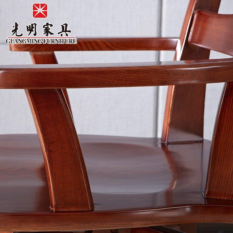 简约木质电脑椅办公