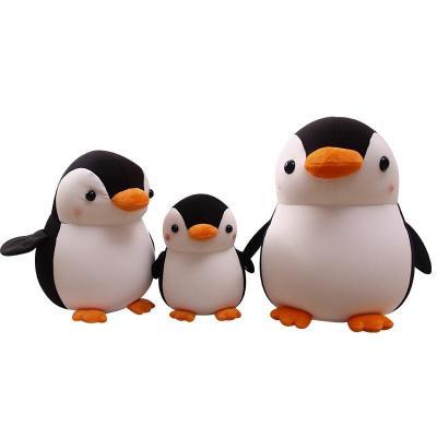 安吉宝贝 创意可爱萌企鹅泡沫粒子软体毛绒玩具布娃娃