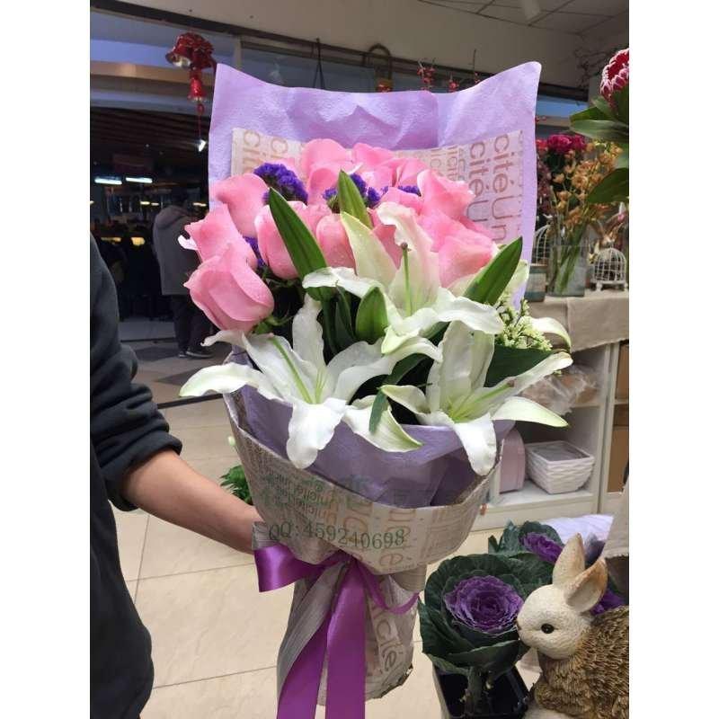 北京鲜花速递同城玫瑰鲜花配送上海广州深圳青岛武汉