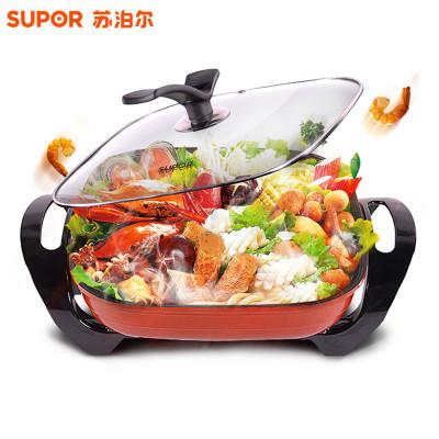苏泊尔(SUPOR)H30FK81-136 韩式多功能电火锅 不粘锅 多功能电热锅电煮锅