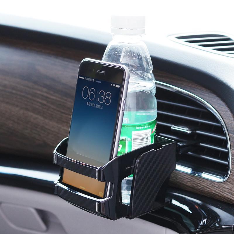 出风口二合一手机架置物架 可伸缩汽车用品