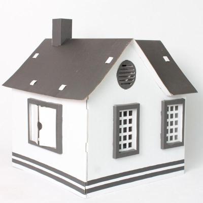 手绘游戏屋---仿真小房子(黑色)