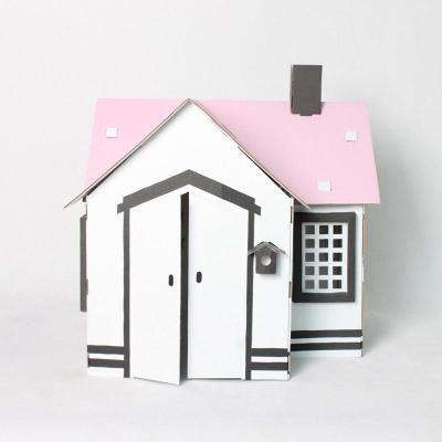 手绘游戏屋--仿真小房子(粉色)