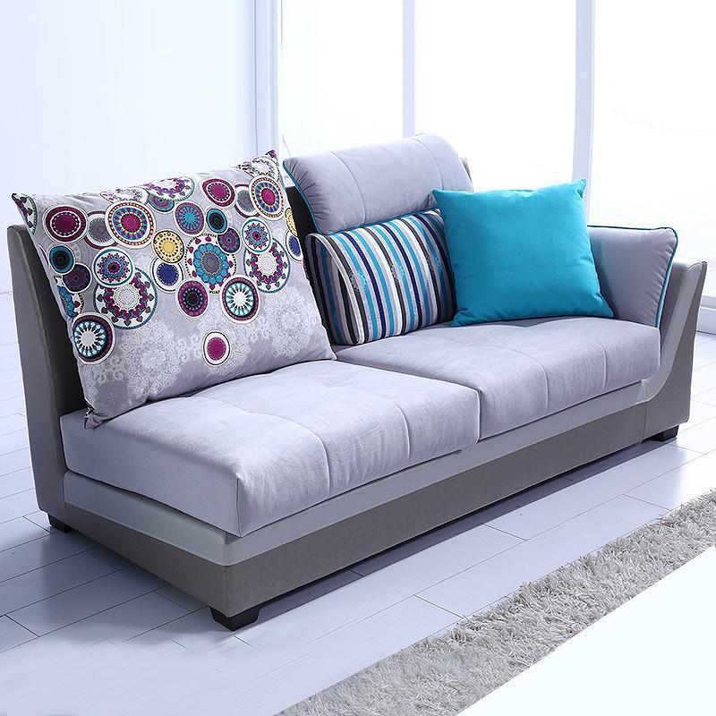 全友家私 时尚布沙发客厅家具贵妃椅沙发布艺沙发