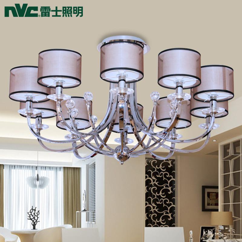【雷士(nvc)吸顶灯】雷士照明欧式吊灯餐厅水晶灯