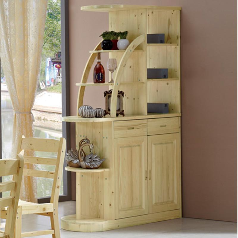 欧式实木厅柜高档客厅酒柜豪华法式隔断柜松