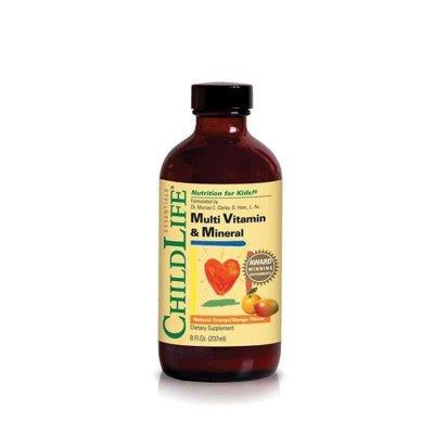 美国童年时光Childlife 23种维生素复合营养液(6个月-12岁)237毫升 宝宝补充多种维生素(进口产品)