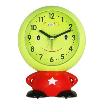汉时(hense)创意儿童闹钟卡通可爱钟表床头小闹钟