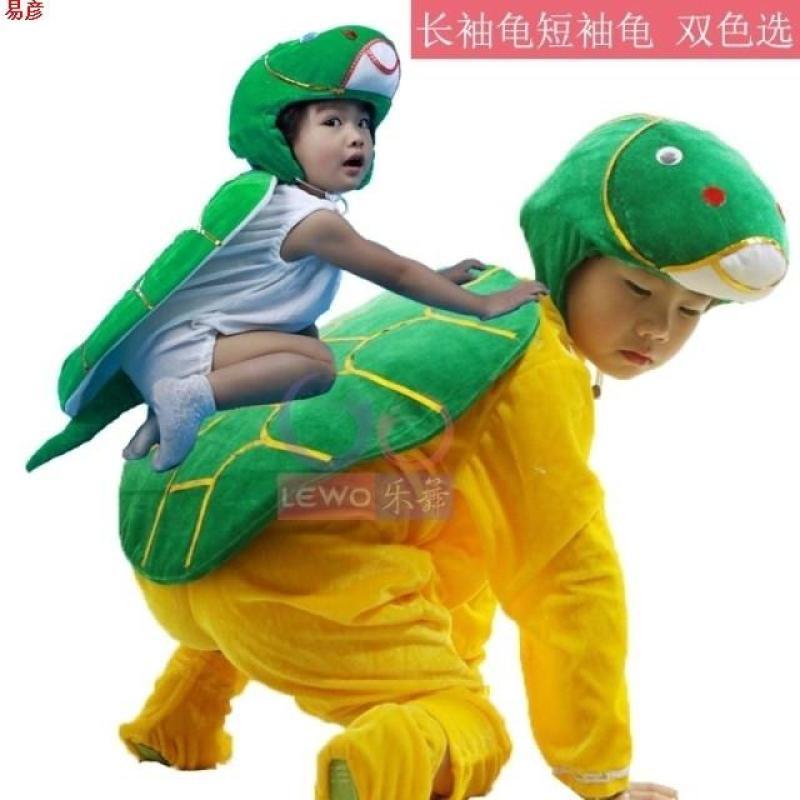 动物服装 演出服乌龟连体舞蹈服长袖短袖龟兔赛跑