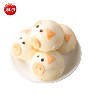 【思念食品官方旗舰店速冻食品】思念小猪包子卡通包