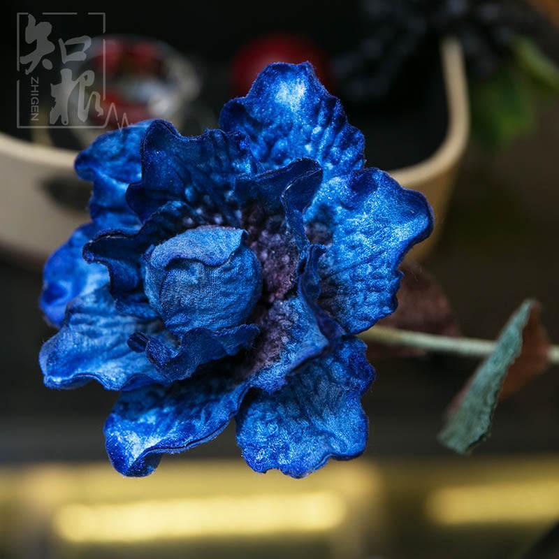 品装饰花客厅摆花插花