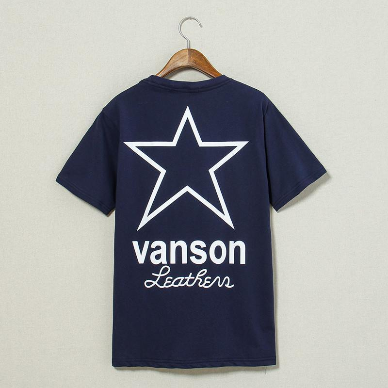 潮庭2015夏装新款字母星星印花男士短袖t恤 打底衫