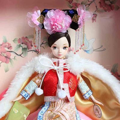 可儿娃娃明珠格格9036 古装衣服 芭比娃娃套装礼盒洋娃娃明珠格格