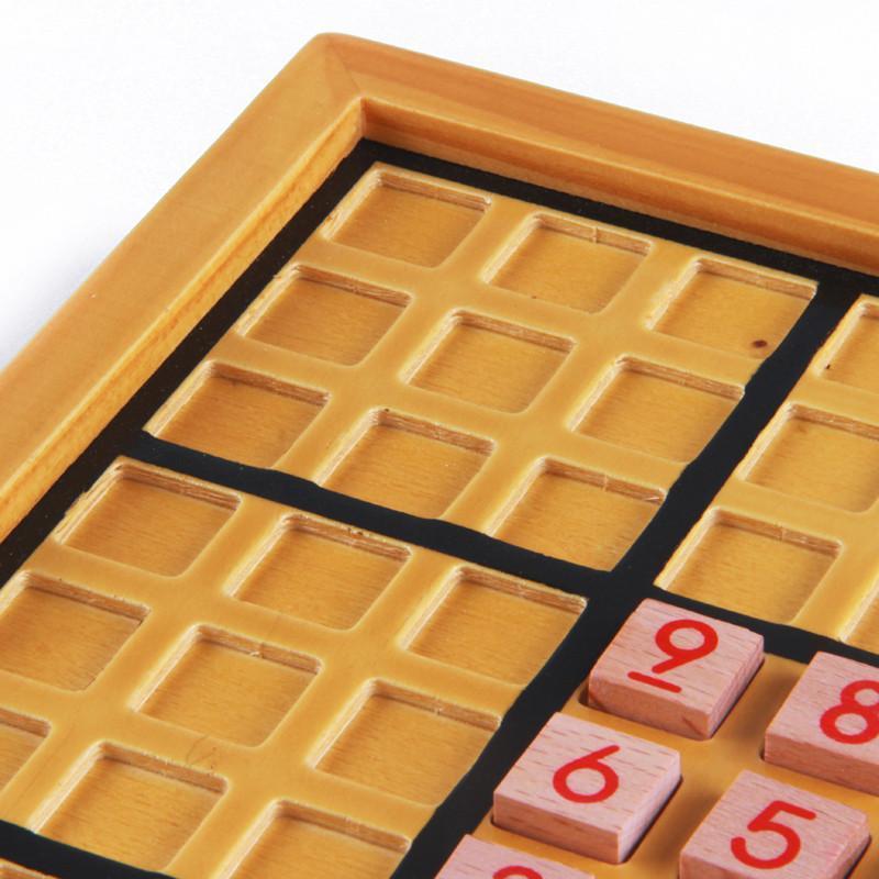木制九宫格数独棋 儿童益智玩具成人智力桌面棋牌游戏亲子 5岁以上