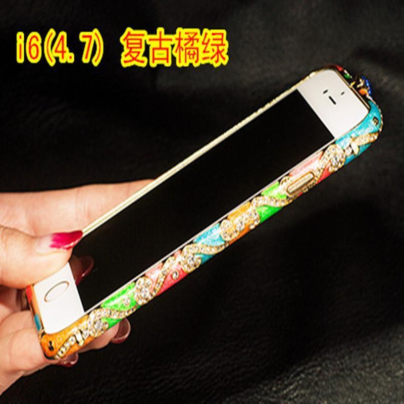 苹果6plus异国风金属边框