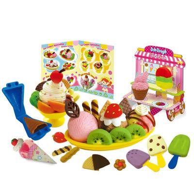 超轻粘土儿童彩泥橡皮泥制作食品工具模具套装幼儿园