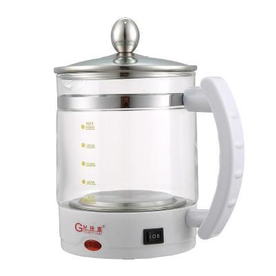 好伴家gmh-1388 养生壶 多功能电热水壶 玻璃煮茶壶 红色图片