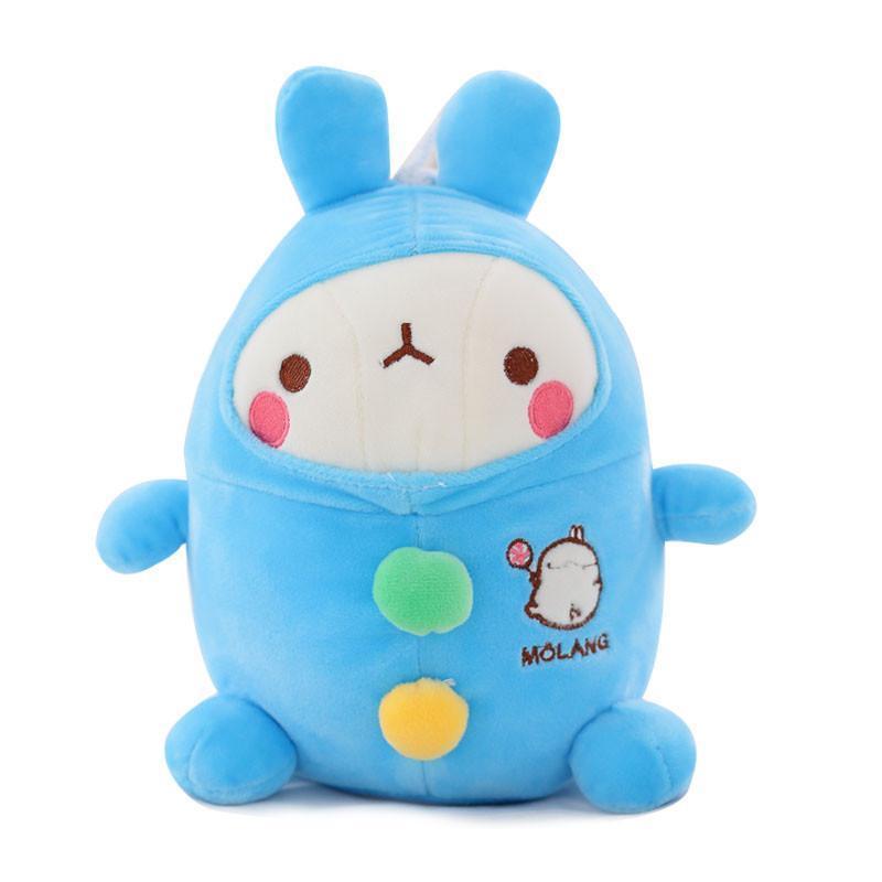 可爱流氓兔公仔 毛绒玩具兔兔玩偶布娃娃 儿童节生日礼物女生 土豆兔