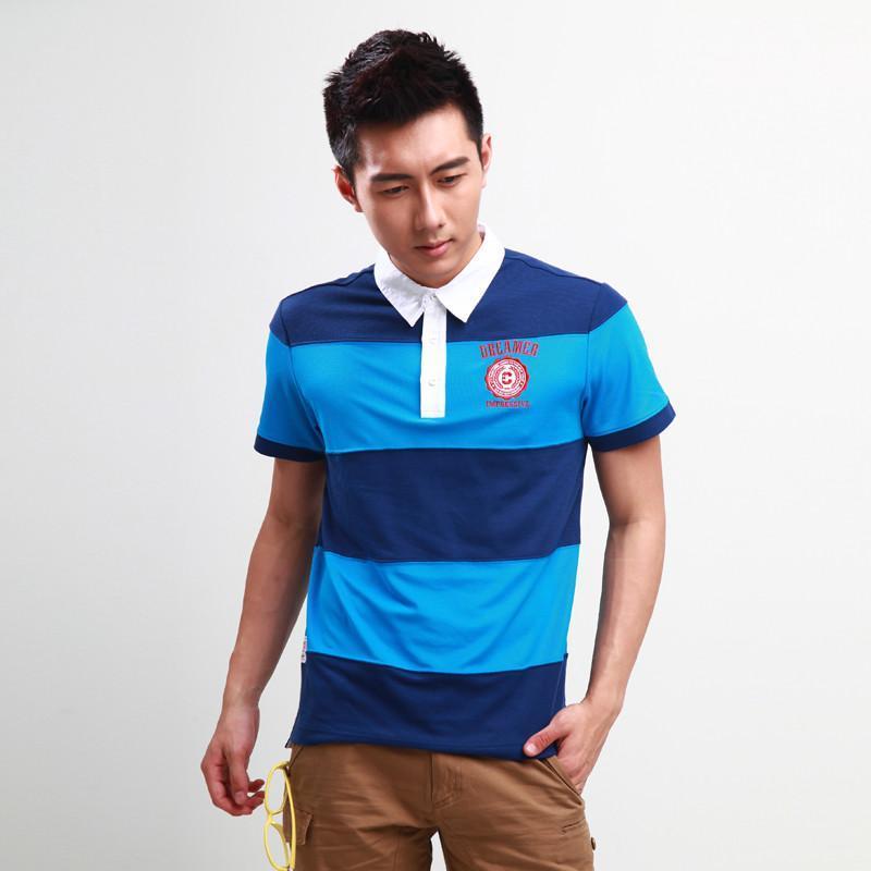 海军男士短袖t恤
