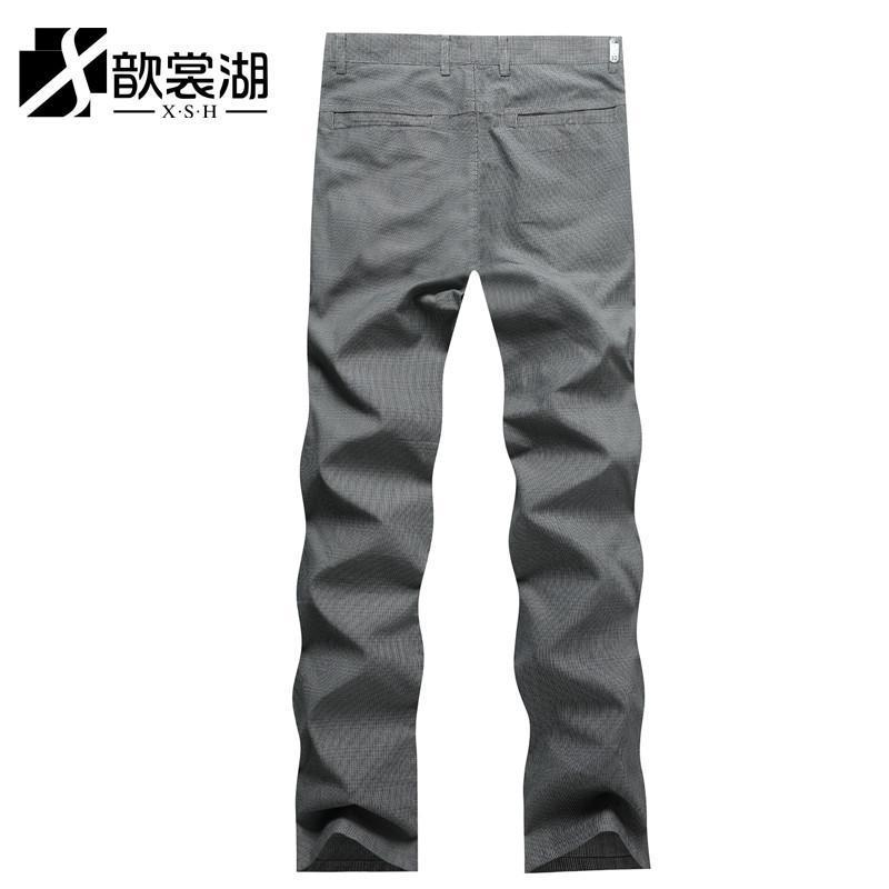 灰色999搭配裤子