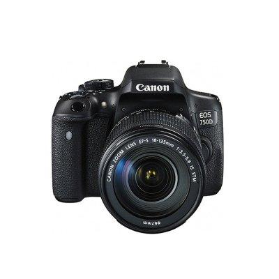 佳能/Canon 入门级单反 EOS 750D 套机(18-135mm)镜头