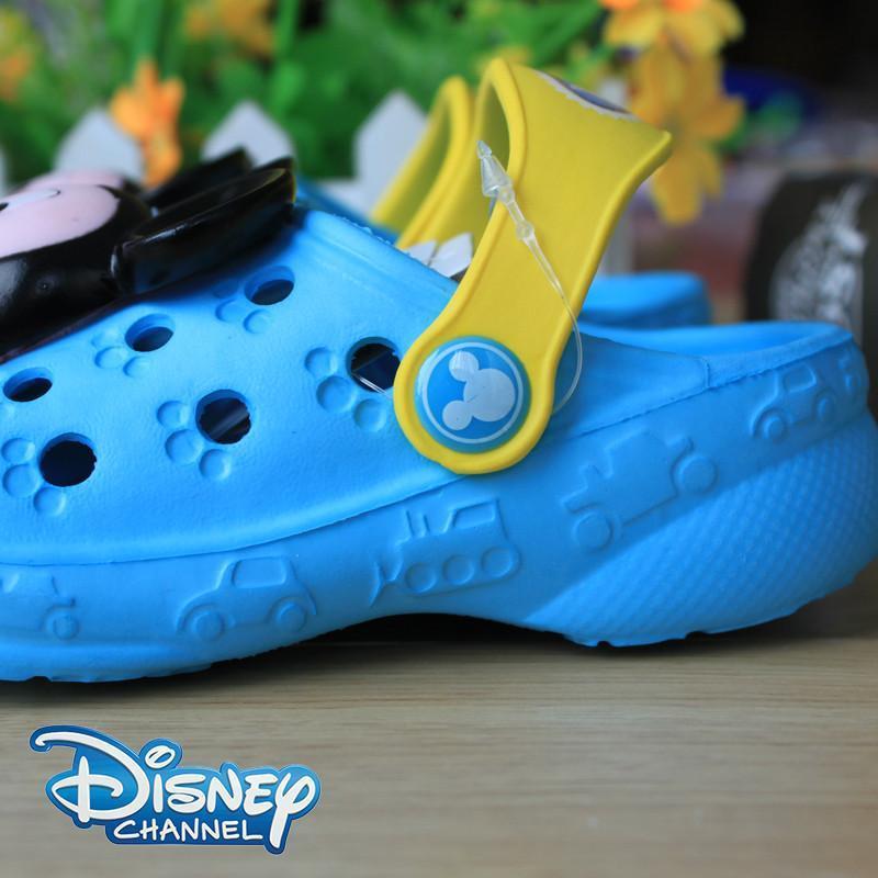 汇鸿外贸 迪士尼儿童拖鞋 夏季宝宝拖鞋洞洞鞋 儿童凉拖鞋童男童拖鞋图片