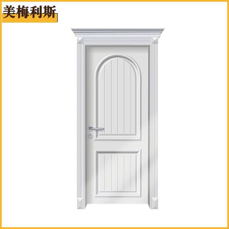 美梅利斯欧式烤漆门带门楣 复合实木门室内门卧室门免漆门 k01