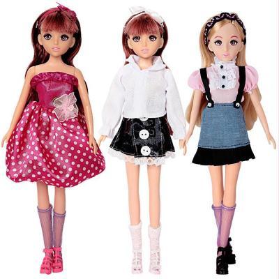 公仔布洋娃娃可爱女孩儿童玩具 漂亮礼物 l8888梦幻公主颜色随机发