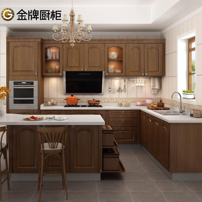 金牌厨柜整体橱柜定做西雅图Ⅱ维纳斯 简欧风格