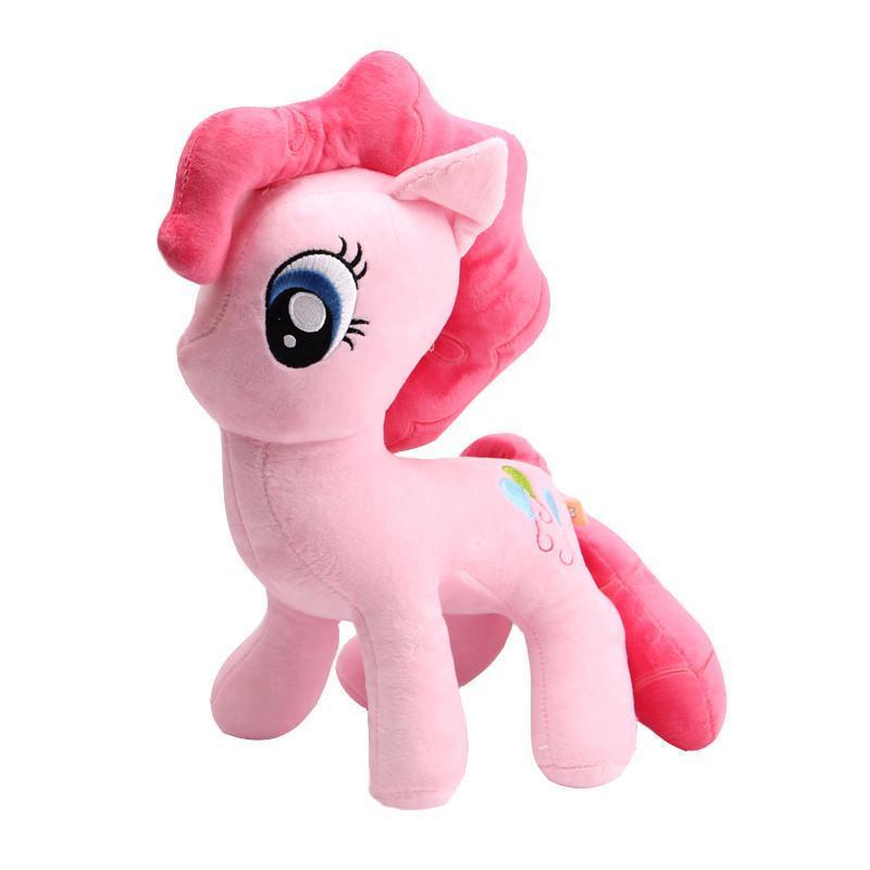 彩虹小马宝莉毛绒玩具 宝丽公主娃娃儿童生日礼物 粉色碧琪 均高40图片