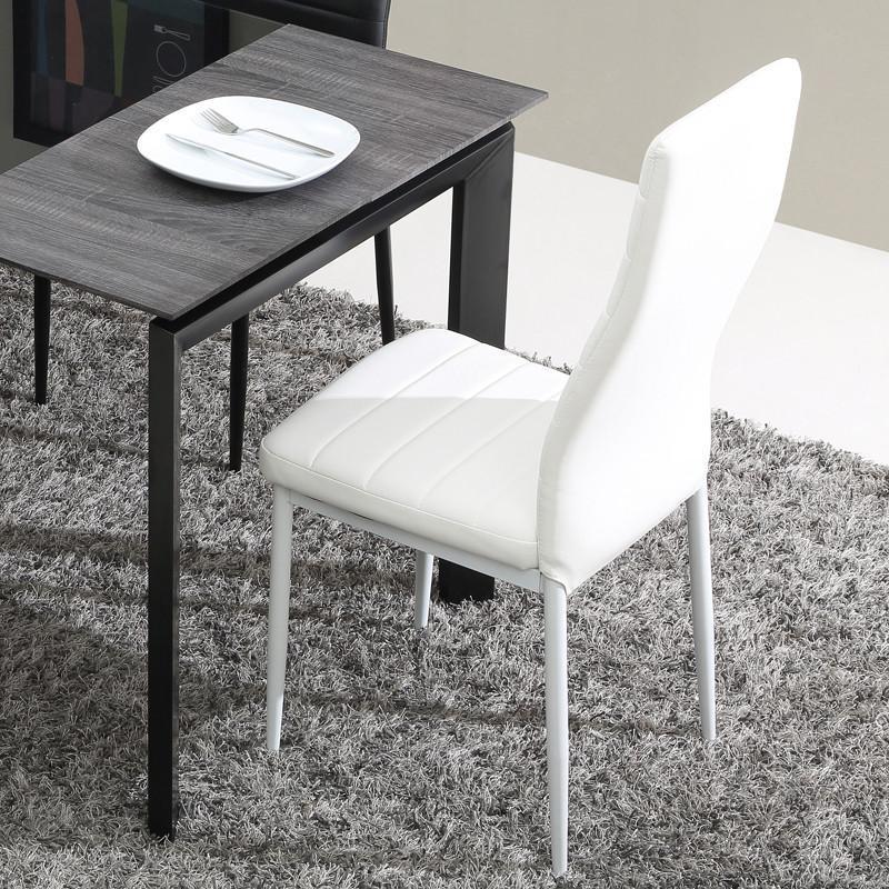 ulike 时尚简约欧式餐椅 餐桌椅子 休闲椅 pu椅两把起售
