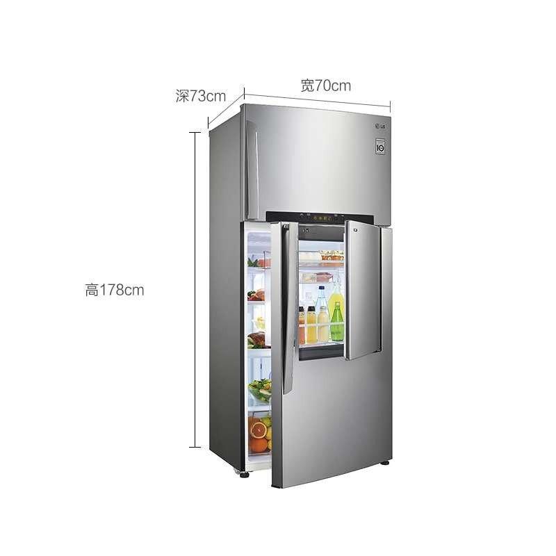 LG冰箱BCD-441WJ(GR-D502HSAN)