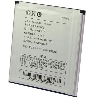 酷派9970电池 酷派9080w 8970l原装电池 cpld-318 大观4电池