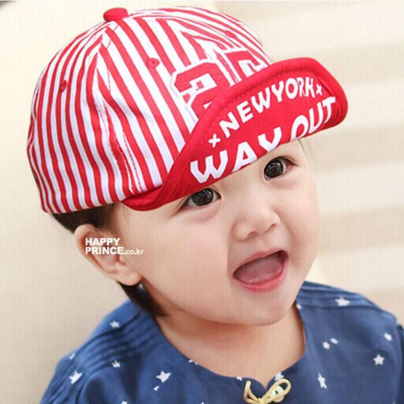 咔米嗒韩国夏天宝宝儿童遮阳春秋鸭舌棒球帽子婴儿女男童