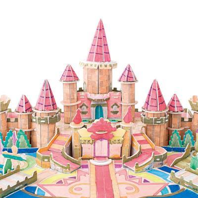 立体城堡场景素材
