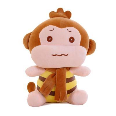 安吉宝贝可爱嘻哈猴公仔小猴子毛绒玩具悠嘻猴布娃娃儿童节生日礼物