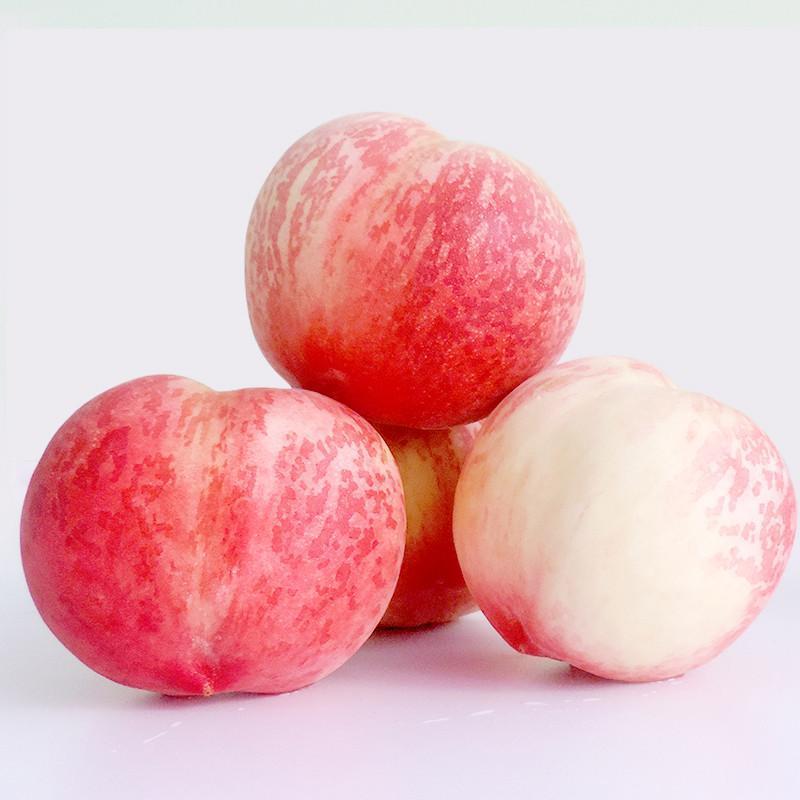 无锡 水蜜桃 新鲜水果桃子 4个