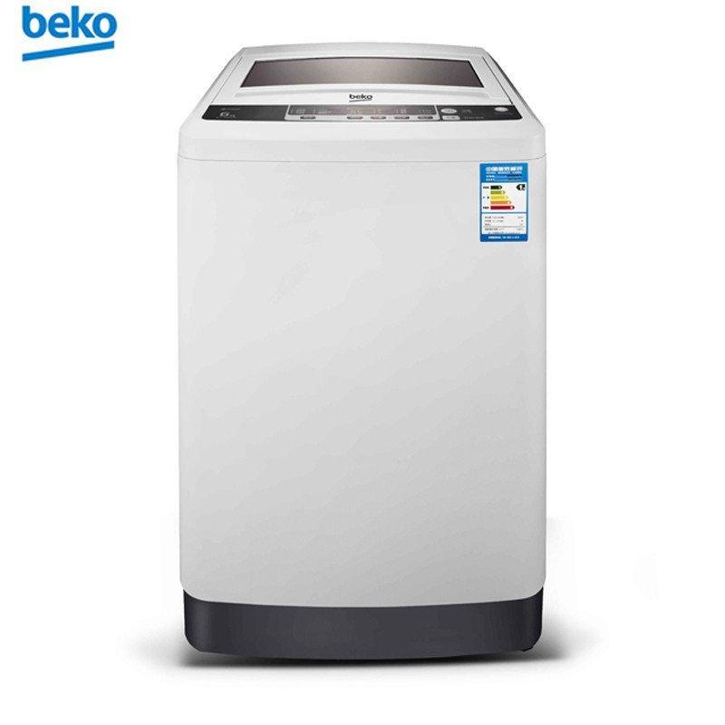 倍科(beko)WTL6019W 6公斤 欧洲设计 全自动波轮洗衣机(白色)
