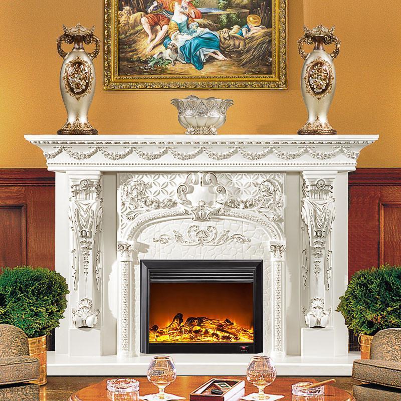 欧式壁炉装饰柜