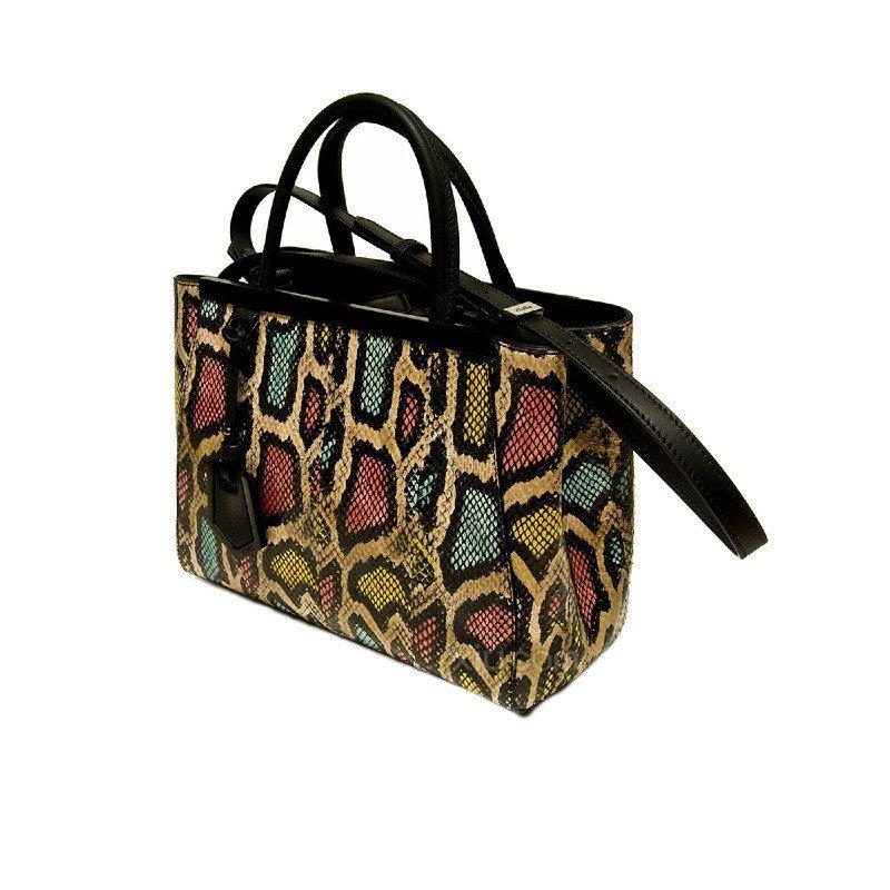 fendi 芬迪 女士蛇皮提挎两用包 其他