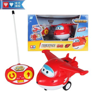 奥迪双钻超级飞侠遥控滑行飞机工程师多多3周岁可玩