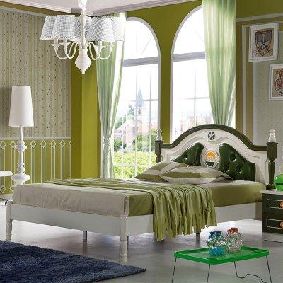 欧式儿童床男孩单人床小孩床