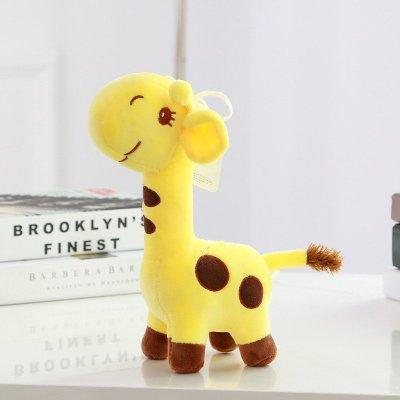 可爱动物毛绒玩具布娃娃生日礼品黄色45cmf3130245
