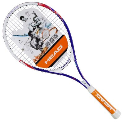 head海德网球拍正品初学男女士单人网球带线训练套装 紫兰色