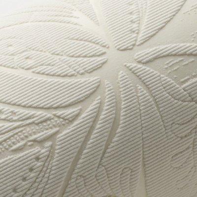 浮雕壁纸3d欧式卧室客厅电视背景墙墙纸-401米白色
