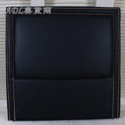 欧式软包黑色壁纸