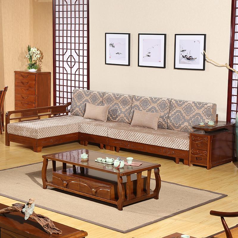 郑州实木水曲柳沙发图片价格